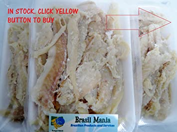 Bacalhau Bacalao Dry Salted Cod Pieces No Bone No Skin 3 Pack