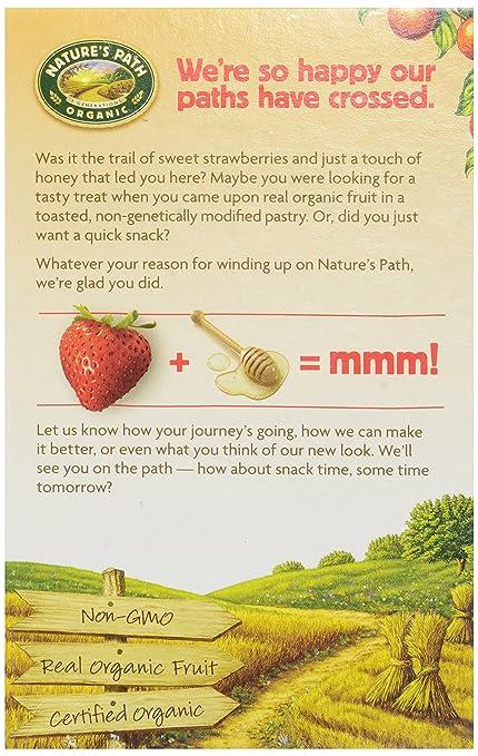 Camino de la naturaleza orgánico, tostador pasteles, Fresa ...