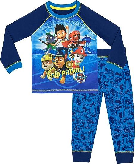 Schlafanzug Paw Patrol Jungen Pyjama Schlafanzug Lang