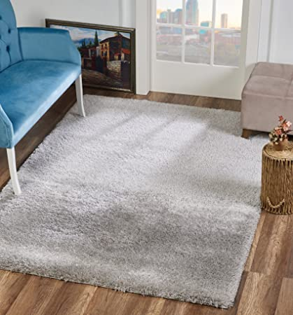 amazon com area rugs fluffy modern thick solid plush soft pile