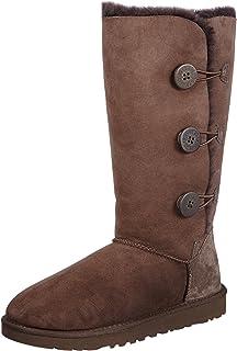 98d27d1815a Amazon.com | UGG Women's Bailey Button Triplet Ii Winter Boot | Mid-Calf