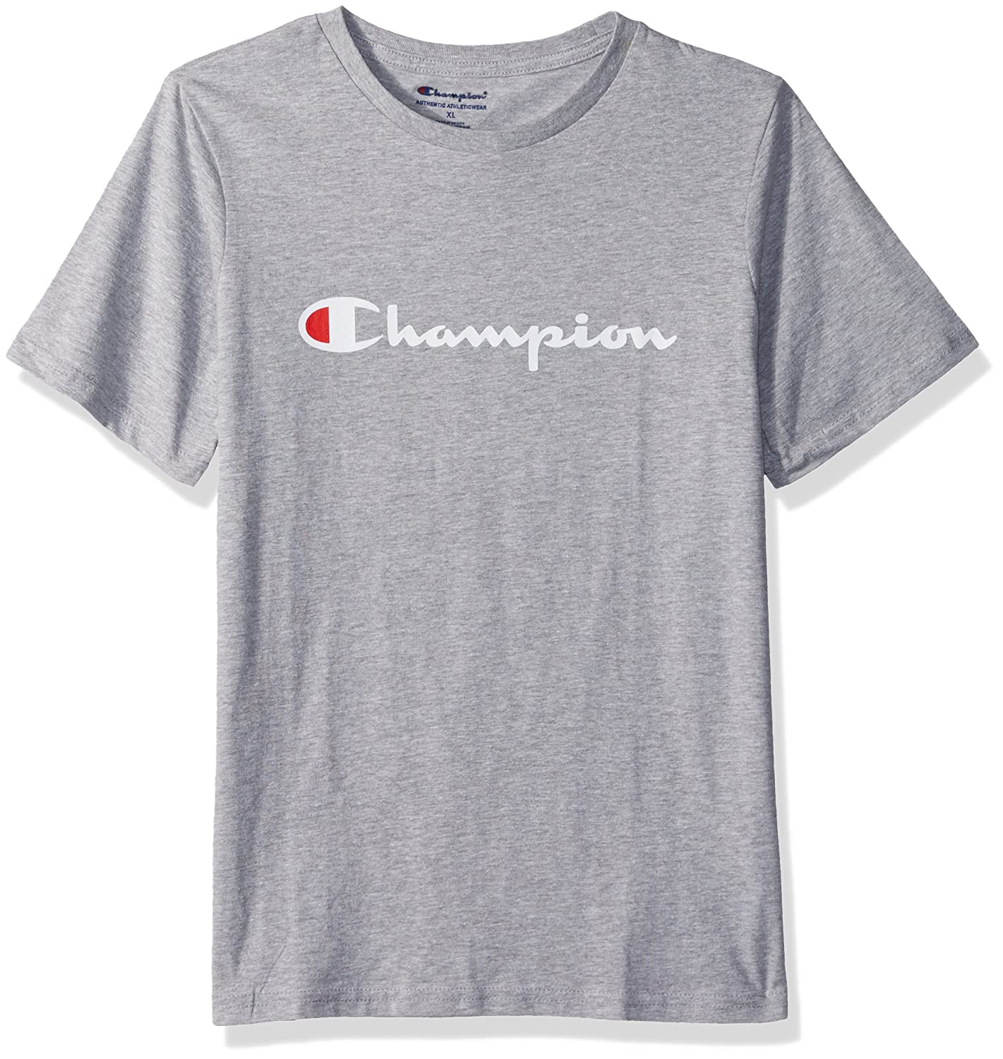 97e41cf03 Amazon.com: Champion Boys Short Sleeve Logo Tee Shirt: Clothing