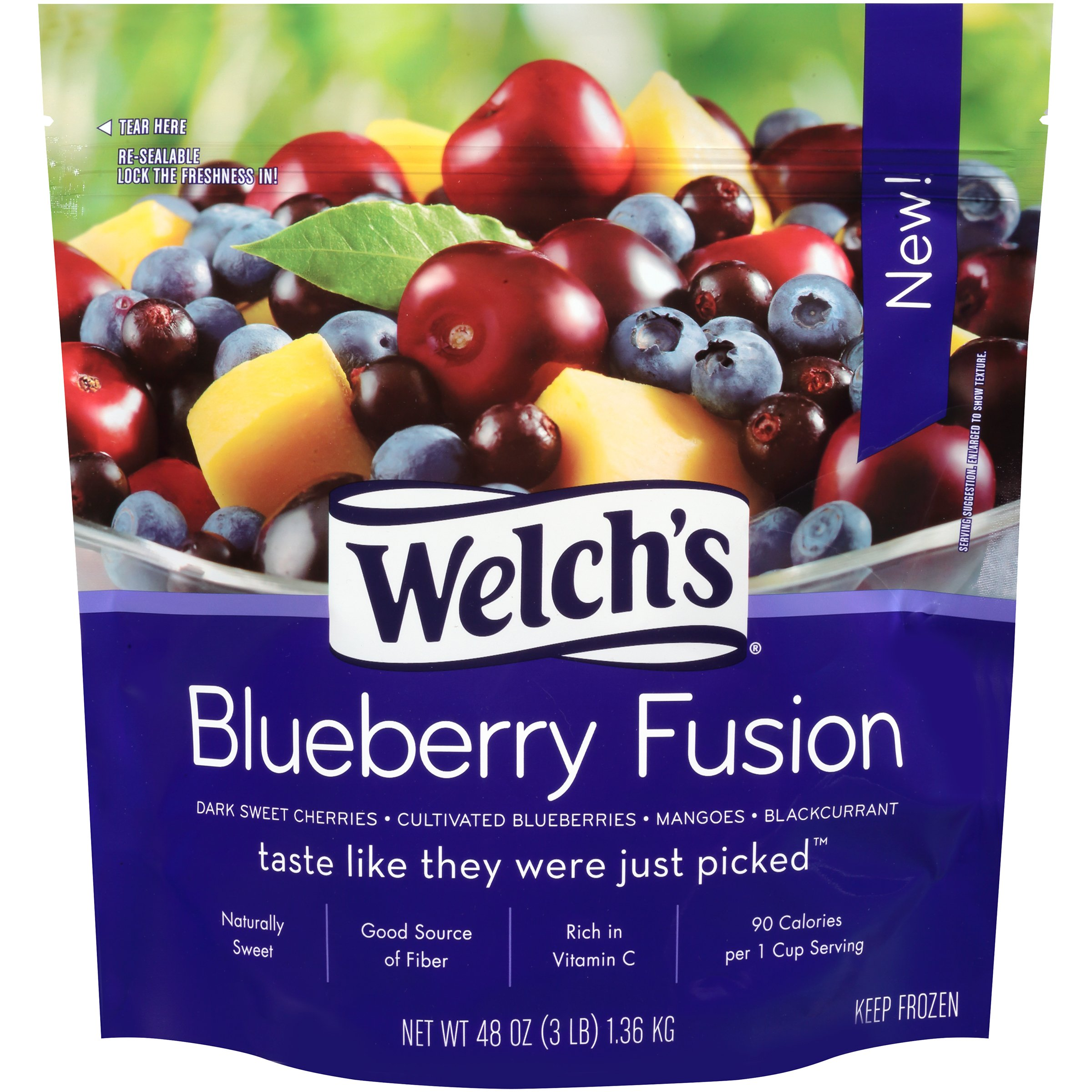 Welch's, Blueberry Fusion 3 lb. (6 Count) by Welch's (Image #1)