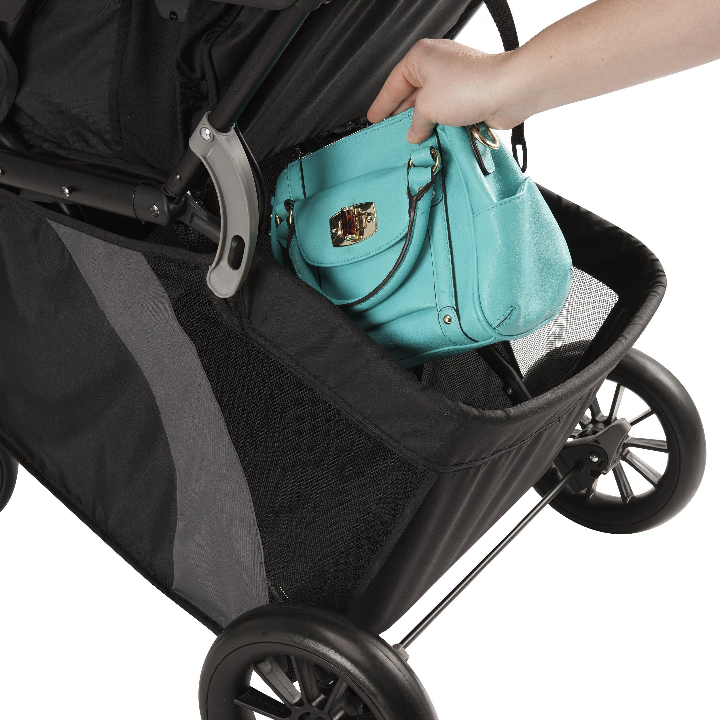 Evenflo Advanced SensorSafe Epic Travel System with LiteMax Infant Car Seat, Jet by Evenflo (Image #12)