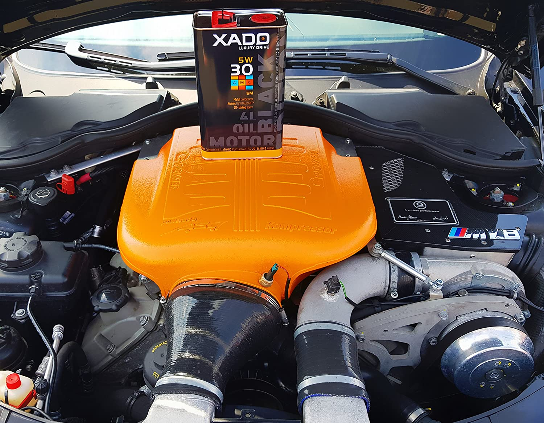Xado Motoröl 5w30 Premium High Performance Sm Cf Synthetisch Motor Öl Additiv Paket Für Hochleistungsmotoren Motorschutz Der Extraklasse Lx Amc Black Edition 5w 30 Sm Cf 4 Liter Motorenöl Auto