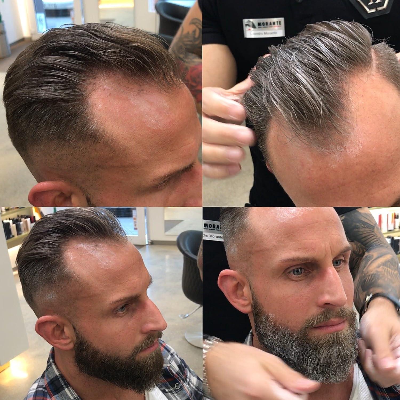MR.GREY Hair styling / Gel fijador y tinte de pelo 2 en 1 / Color temporal / Tres colores a elegir: gris, plata y blanco / lavable / para mujeres y ...