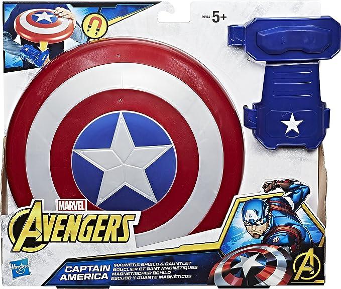 Marvel Avengers- Capitán América Escudo Y Guante (Hasbro B9944EU6 ...