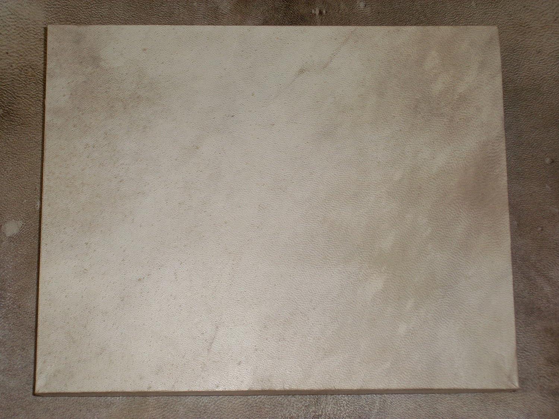 Vera 100% a mano pergamena medievale in pelle di capra 15, 2 x 20, 3 cm 2x 20 3cm Karederi