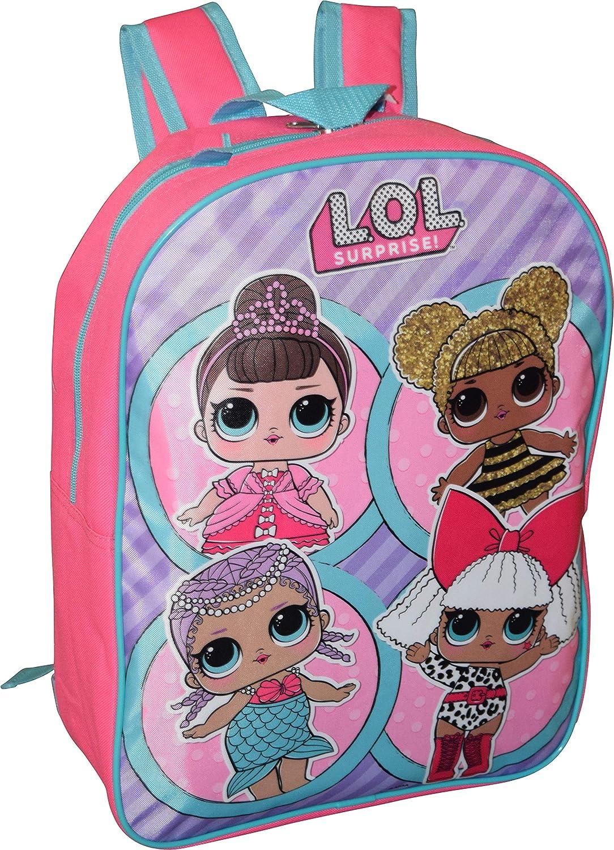 L.O.L Surprise! Girl's 15' Backpack School Bag Grupo Ruz S.A. de C.V