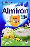 Almirón Papilla de cereales sin gluten a partir de 4 meses - Paquete de 3 x 500 gr - Total: 1500 gr