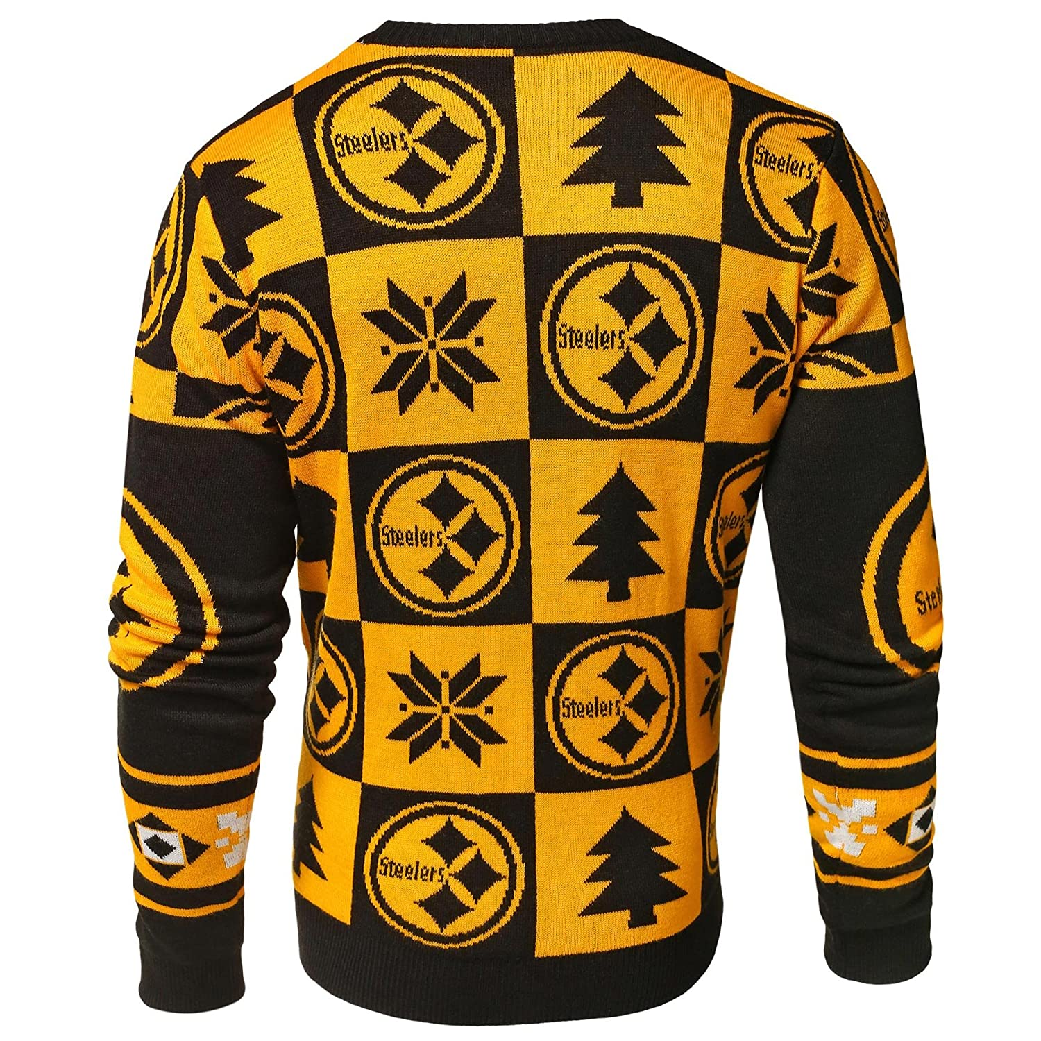LOS ANGELES RAMS 2016 PATCHES UGLY CREW NECK SWEATER