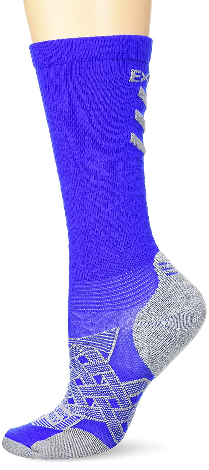 Thorlos Experia Mens Xeou Multi-Sport Thin Padded Compression Over The Calf Sock