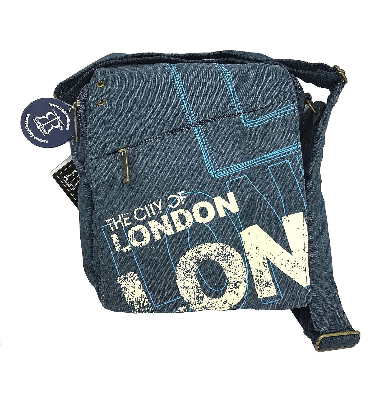 Robin Ruth Cross Body Bag London City Bag Blue -UK Goft