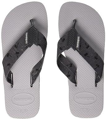 1fceaa98014cc Amazon.com  Havaianas Urban Basic Mens Sandals Grey  Clothing
