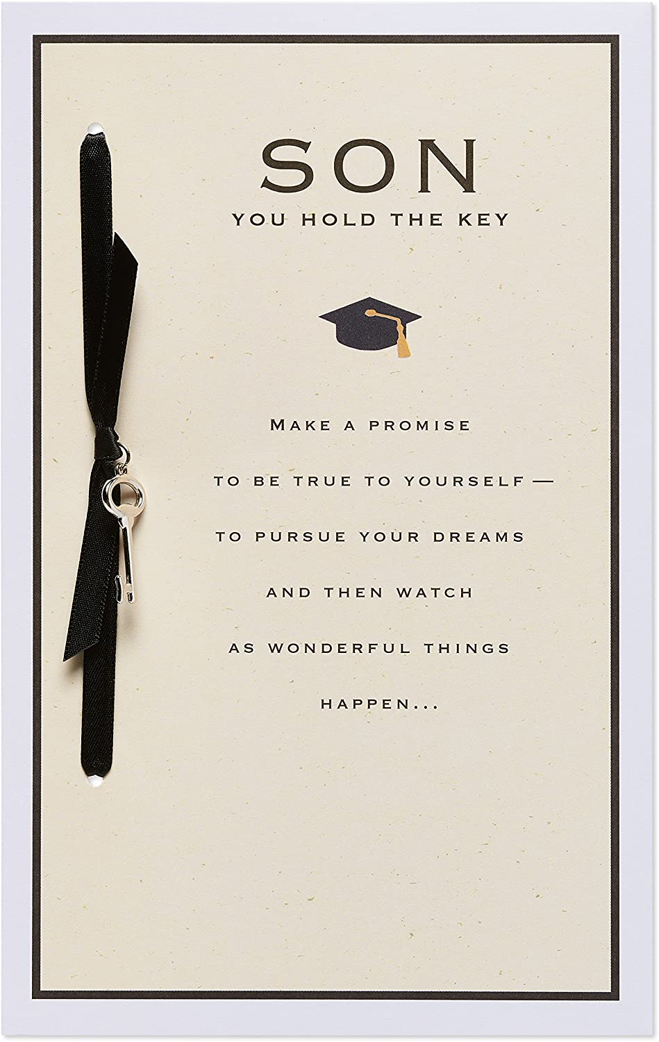 American Greetings Graduation Card for Son (You Hold The Key)