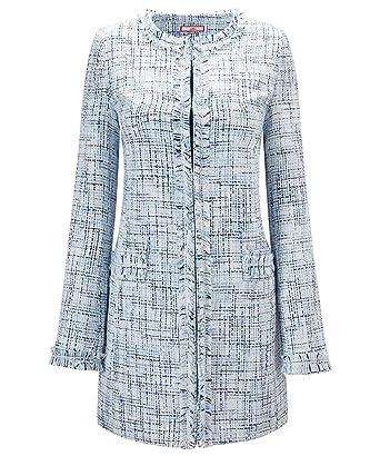4e07437dc13 Joe Browns Womens Smart Collarless Tweed Coat: Amazon.co.uk: Clothing