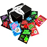 POP ROCKS Popping Candy 9-Flavor Variety: One 0.33 oz Packet Each in a BlackTie Box (9 Items Total)