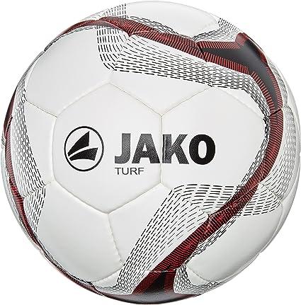 JAKO Turf -2371- Balón de fútbol Multicolor Weiß/Schwarz/Rot Talla ...