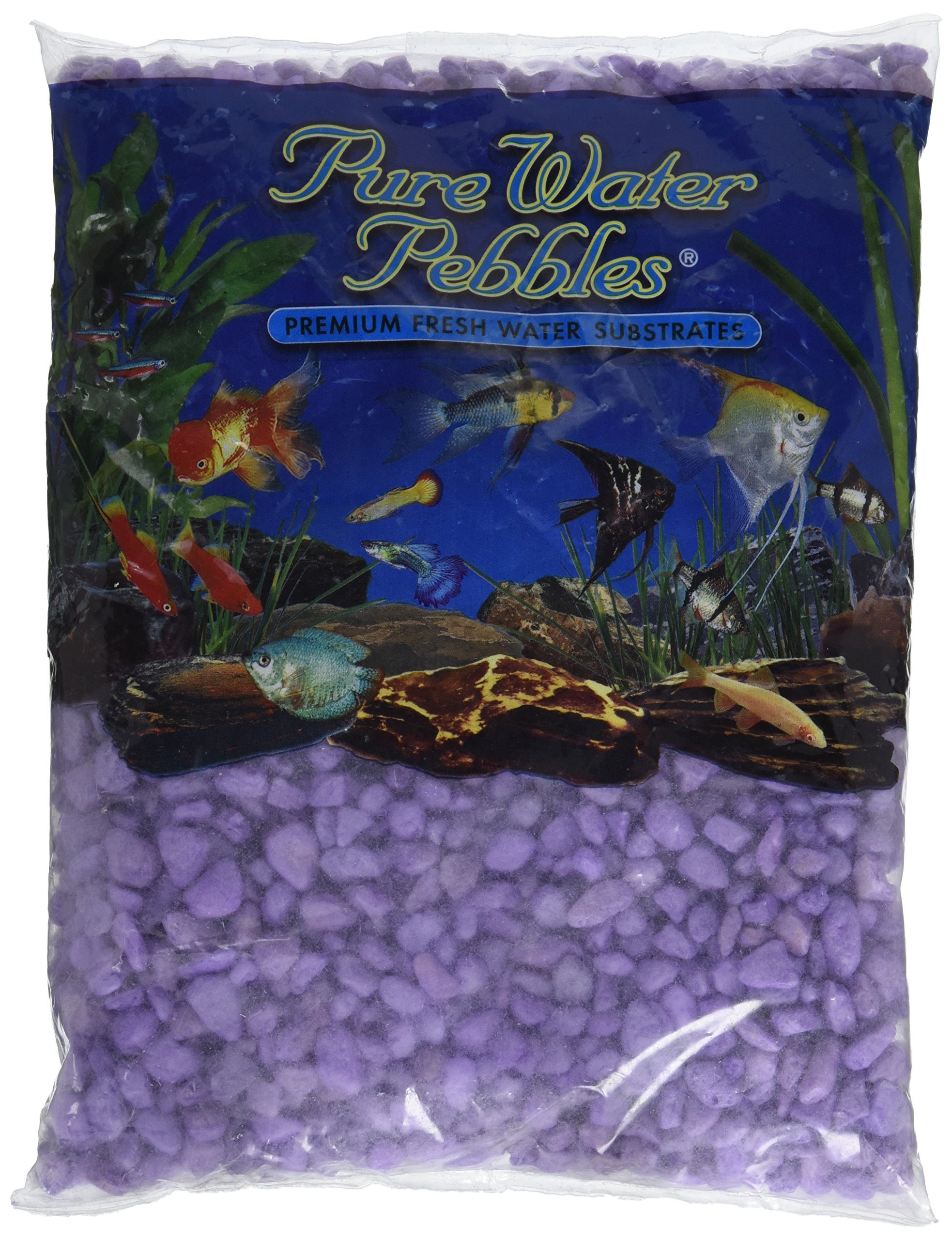 Worldwide Imports AWW70435 Frosted Gravel, 5-Pound, Purple Frost
