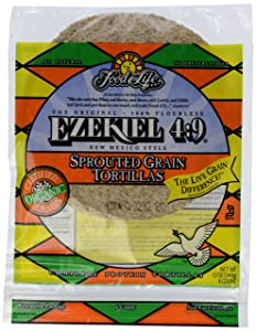 Ezekiel, 10 inch Sprouted Grain Tortillas, 12 oz (Frozen)