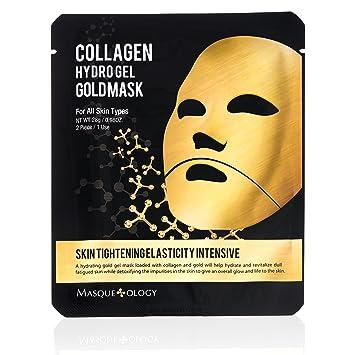 Masqueology Hydro Gel Gold Mask