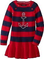 Nautica Little Girls' Stripe Sweater Dress