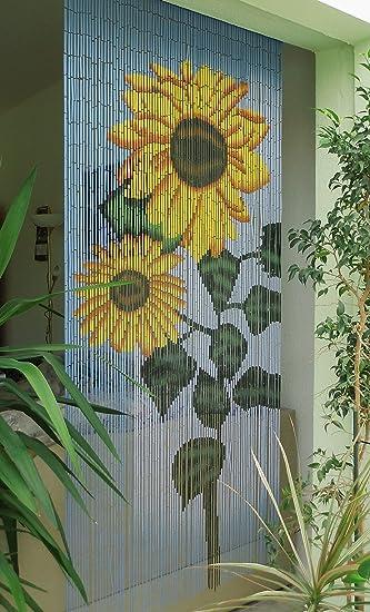 Unbekannt Bambusturvorhang Bambusvorhang Turvorhang Sunflower Ca