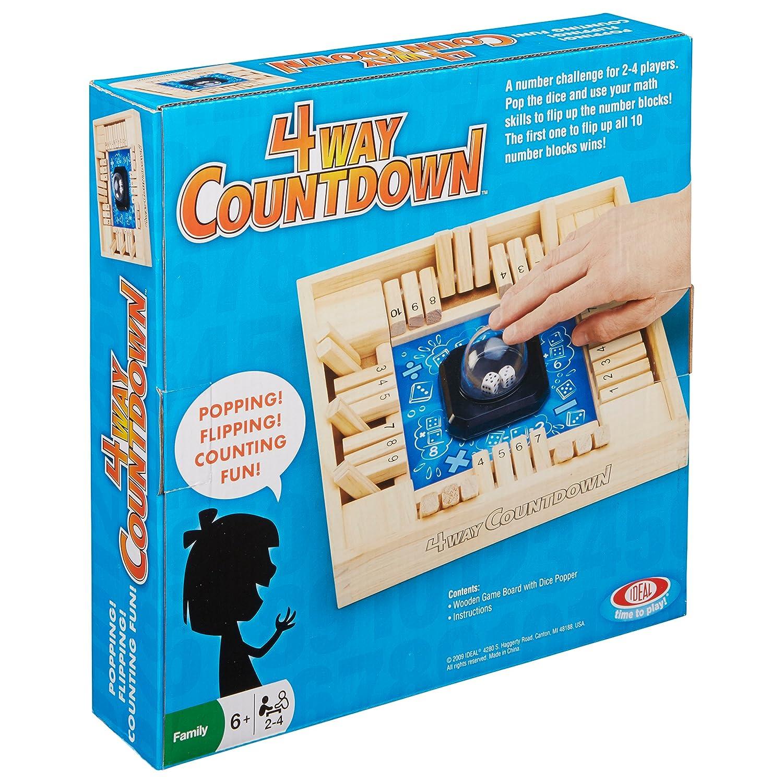 Amazon Ideal 4 Way CountDown Game Toys & Games