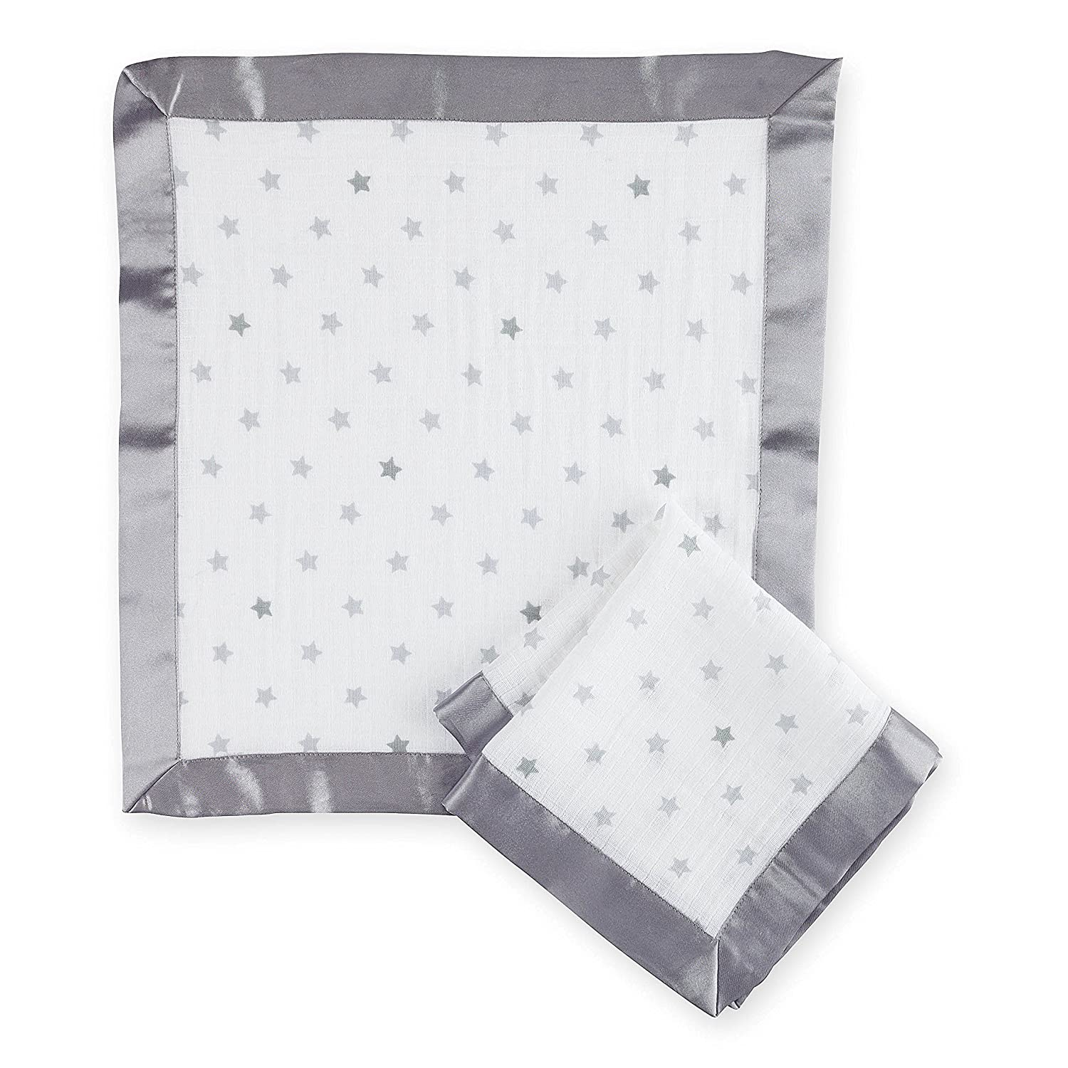 aden by aden + anais Security Blankets 2-Pack , Dove G512