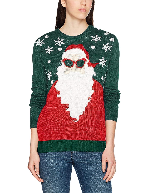 NIZZIN Santa, Suéter de Navidad Unisex
