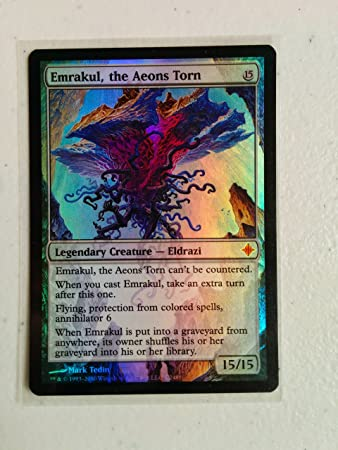 the Aeons Torn Foil New MTG Rise of the Eldrazi Magic Emrakul