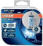 OSRAM COOL BLUE INTENSE H7, Lampe de phare halogène, 64210CBI-HCB, 12V véhicule de tourisme, boîte duo (2 pièce)