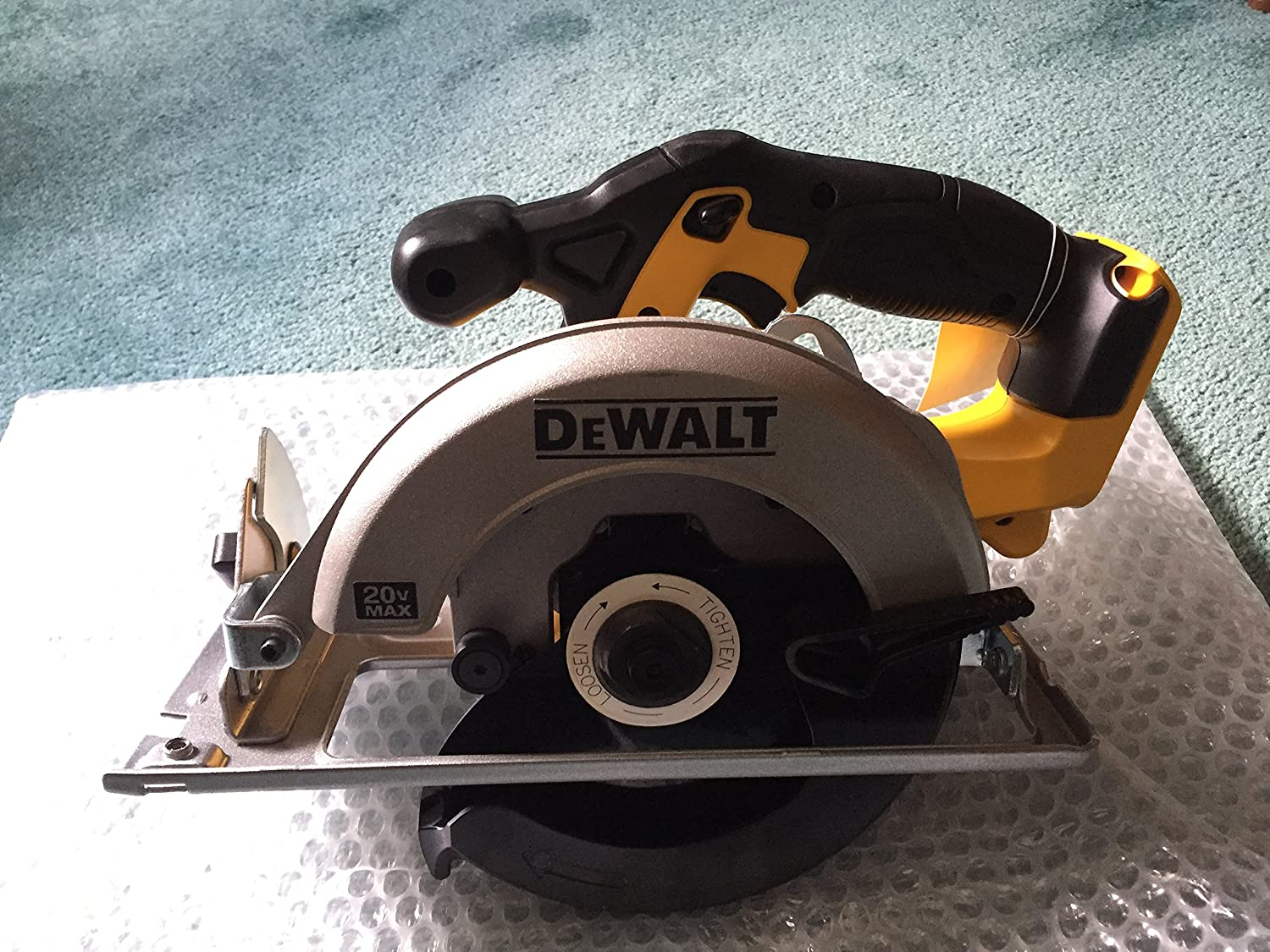 Dewalt DCS393 bare tool 20V MAX 6 1 2 circular saw in bulk packaging