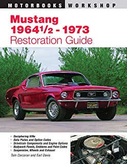 mustang restoration handbook don taylor 0075478640294 amazon com rh amazon com 1967 Mustang Parts Catalog 1967 Mustang Rotisserie