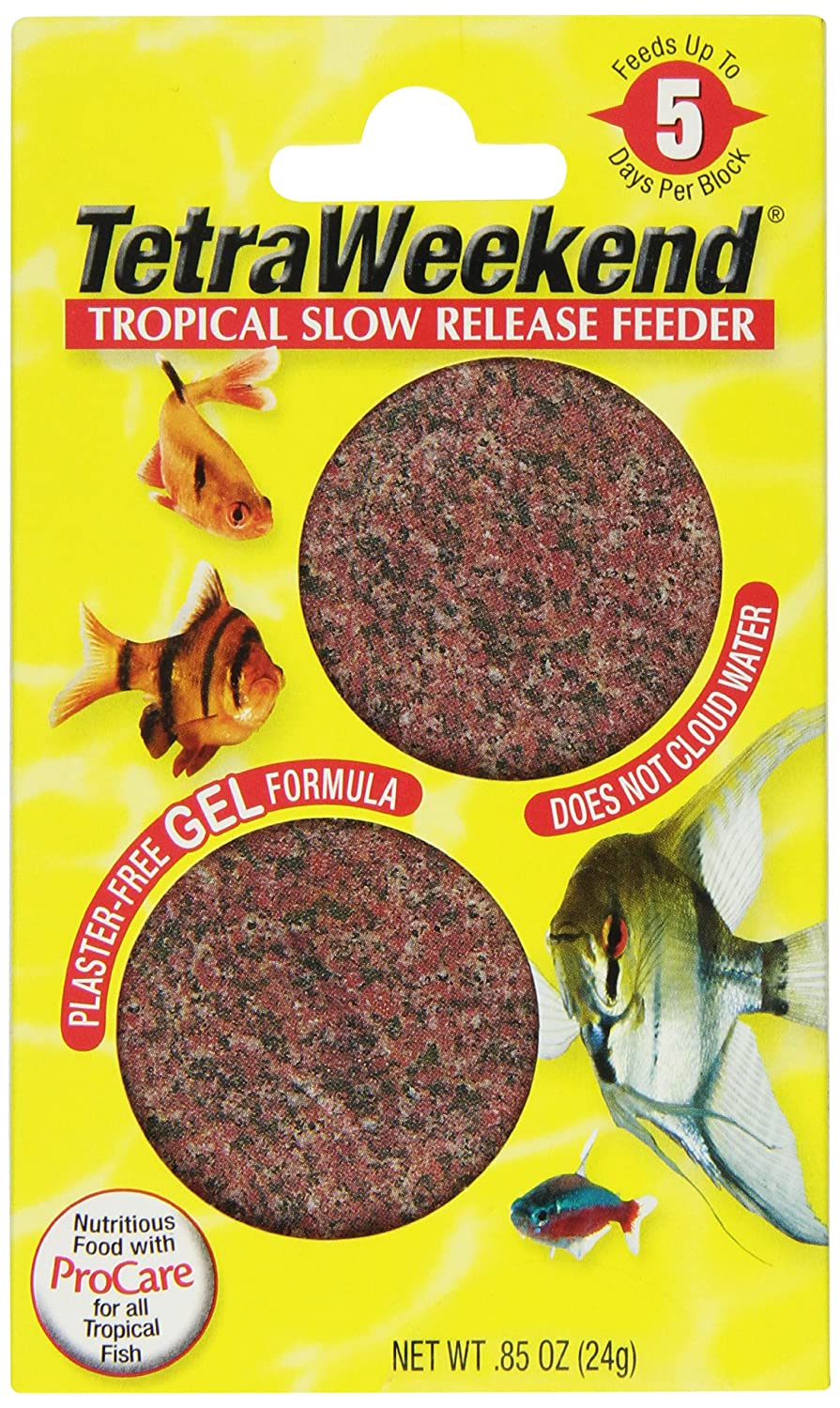 Tetra 77151 TetraWeekend Tropical Slow-Release 5-Day Feeder, by Tetra B000HHLH0I