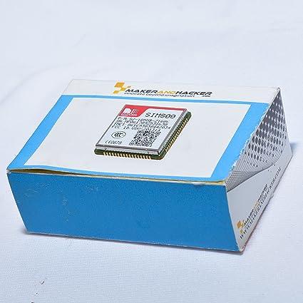 MAKER AND HACKER SIMCOM SIM800 Quadband BAND GSM MODULE