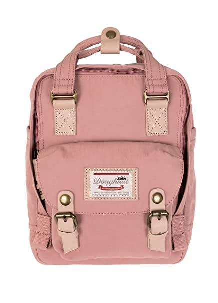 dostępny amazonka odebrać Doughnut Macaroon Mini Backpack (Rose)