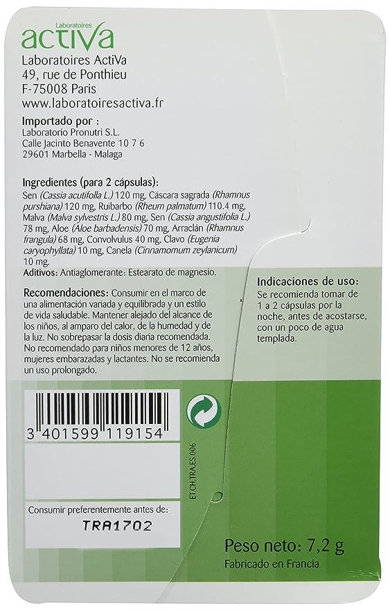 ACTIVA - CRONO TRANSITO 15cap ACTIVA: Amazon.es: Salud y cuidado personal