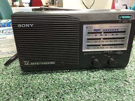 Sony Icf-34 - Radio de 4 Bandas para televisores: Amazon.es: Electrónica