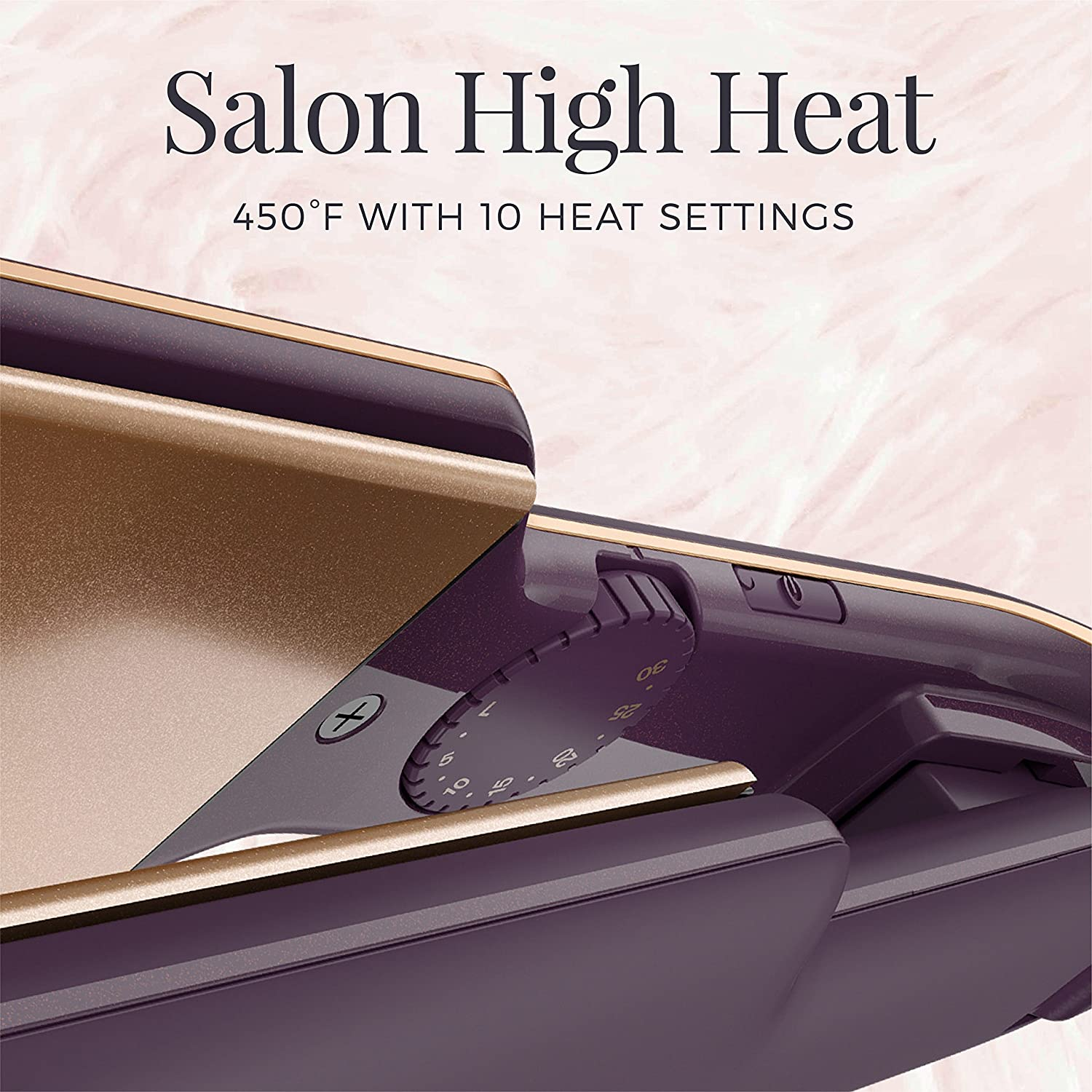 Remington 2 Flat Iron with Thermaluxe Advanced Thermal Technology, Purple, S9130S
