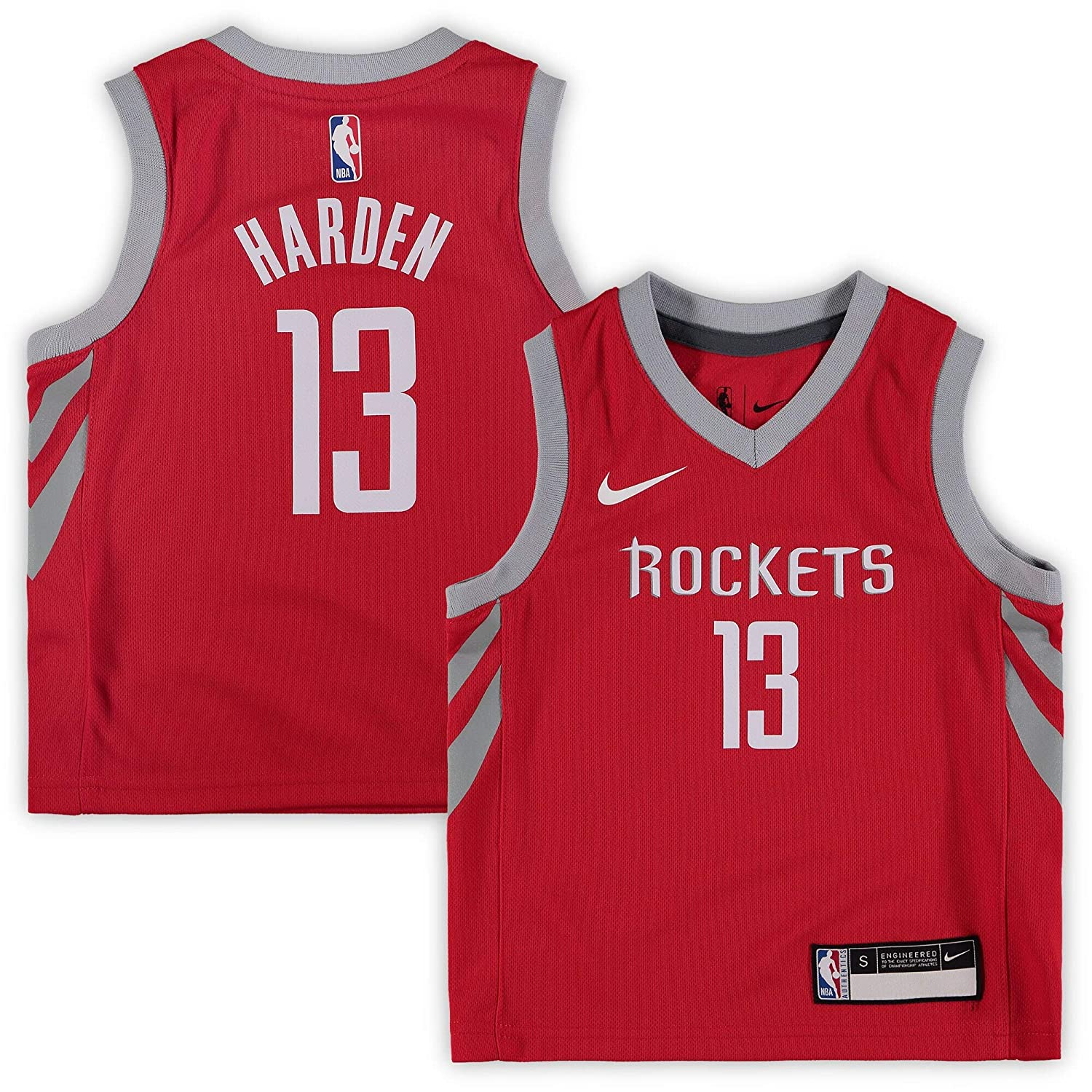 quality design ad29d 9d537 Amazon.com : Nike James Harden Houston Rockets NBA Toddler 2 ...