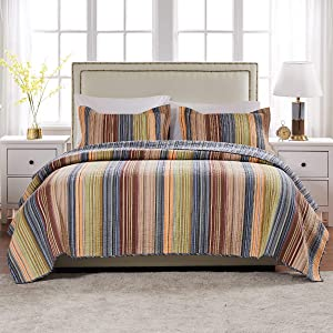 Greenland Home Katy Twin Quilt Set