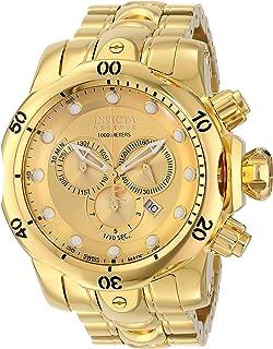 Invicta Mens 14503 Venom Analog Display Swiss Quartz Gold Watch