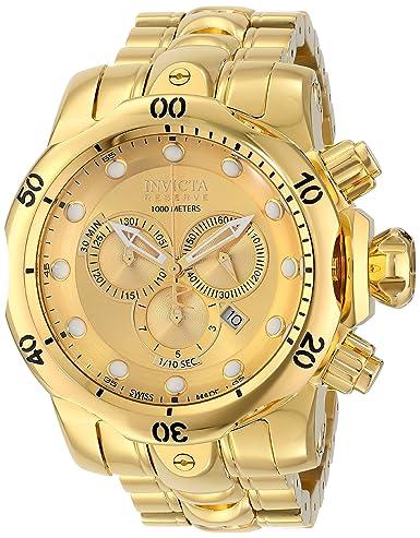 Invicta Men s 14503 Venom Analog Display Swiss Quartz Gold Watch