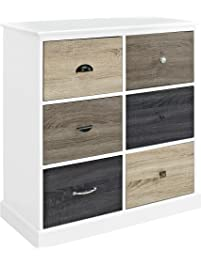 ameriwood home mercer 6 door storage cabinet
