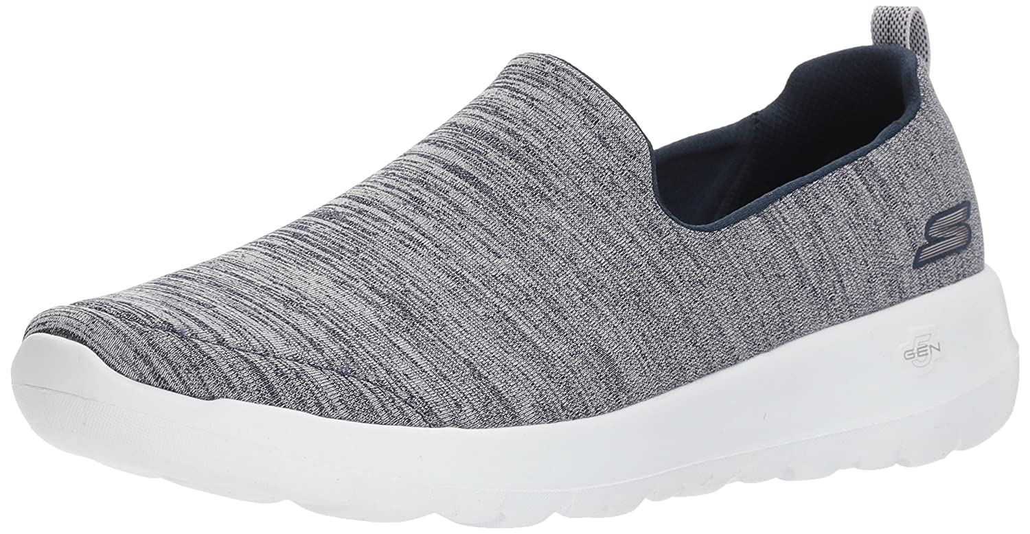 Skechers Women's Go Walk Joy-15611 Sneaker B07537P4JH 12 B(M) US|Navy/White