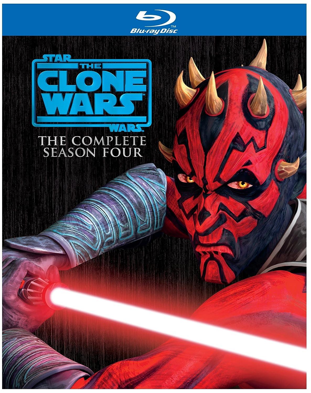 Star Wars The Clone Wars Season 4 Blu Ray Various Various Movies Tv
