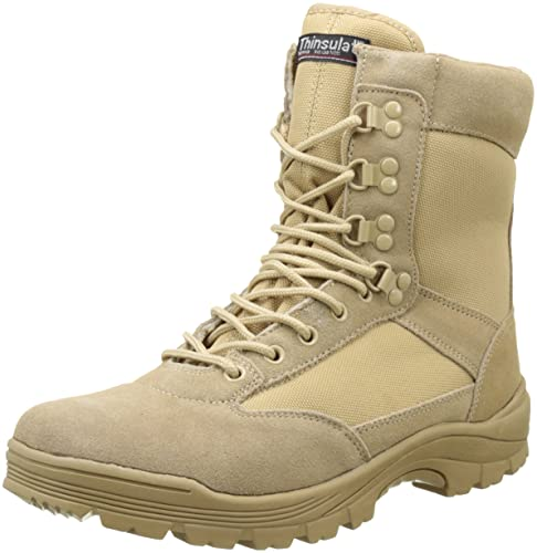 7dce3512ef8 Mil-Tec Tactical Army Boots with Side Zip