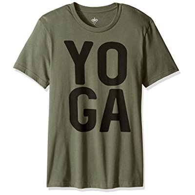 Alo Yoga Men's Ss Graphic Tee | Amazon.com