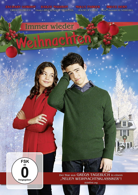 Immer wieder Weihnachten: Amazon.de: Zachary Gordon, Molly Parker ...